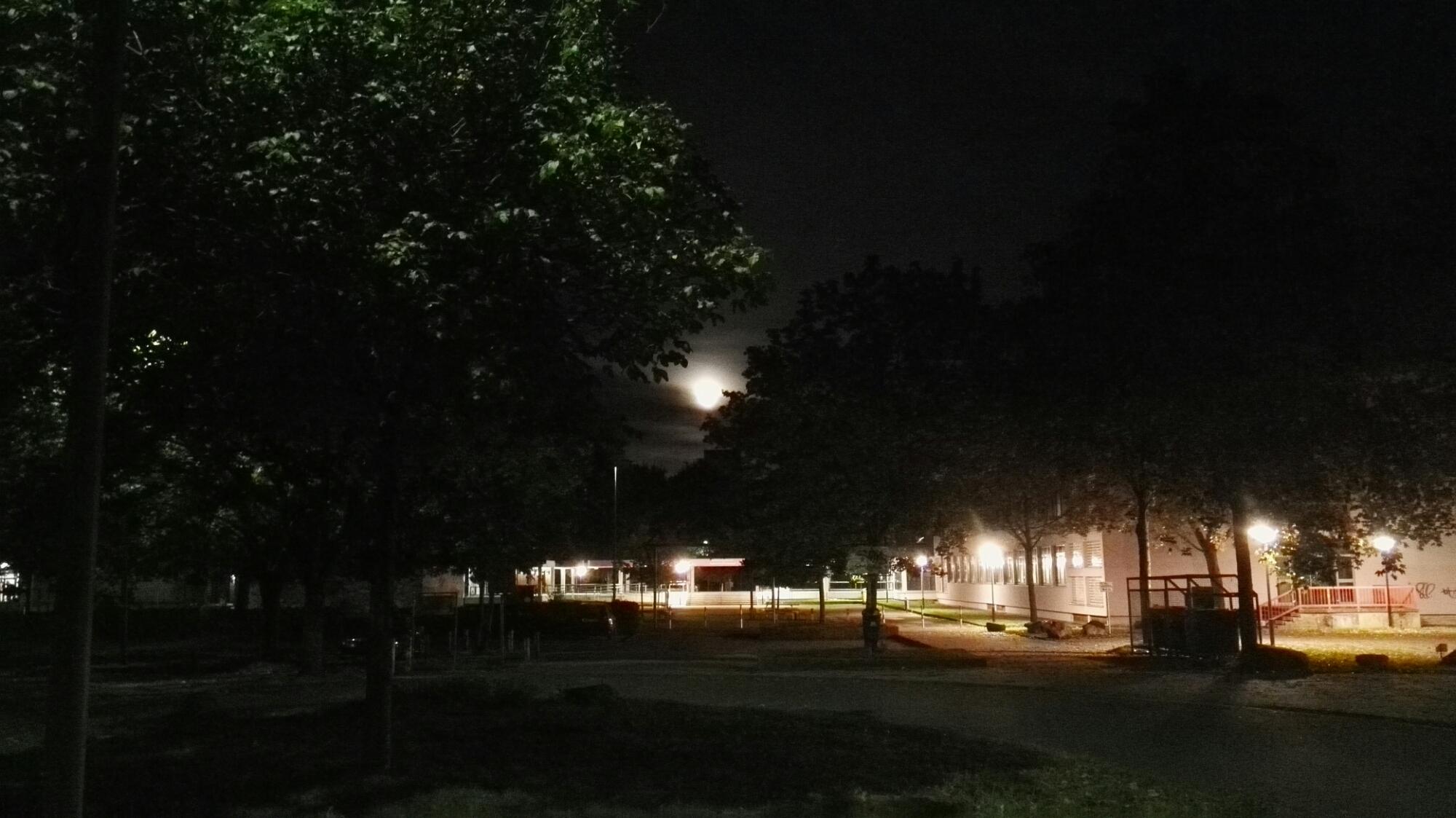 Abendstimmung, Saarbrücken